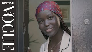 How Model Adut Akech Spends a Day In Dubai | Model Diaries | British Vogue