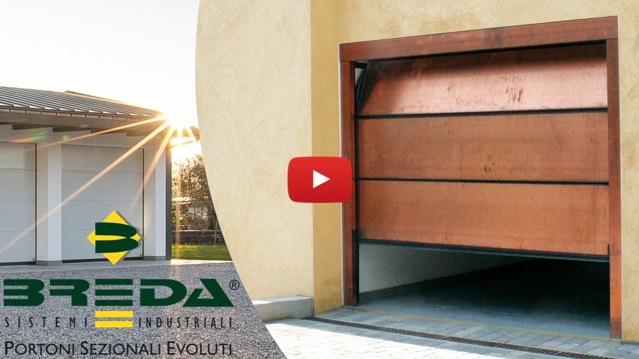 Porte garage breda i portoni sezionali palpebra e le - Porta garage scorrevole ...