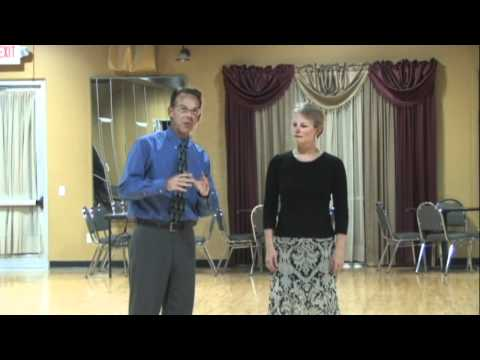American or International ballroom dance hold.wmv