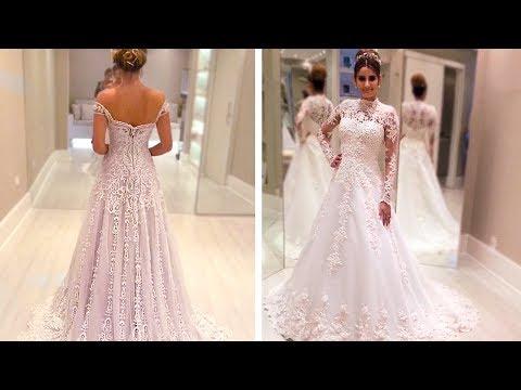 BEST GLAMOROUS WEDDING DRESS COMPILATION. http://bit.ly/2GPkyb3