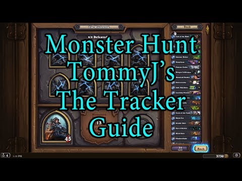 Hearthstone: Witchwood Tess Greymane, The Tracker Hunt Guide
