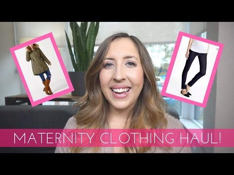 MATERNITY CLOTHING HAUL!