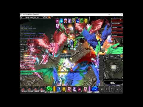 Castle Siege Guild Shredders Wins - Mu Invasion Easy 18/06/2016
