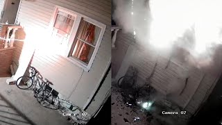 Man Accidentally Burns Down Own Home with Fireworks