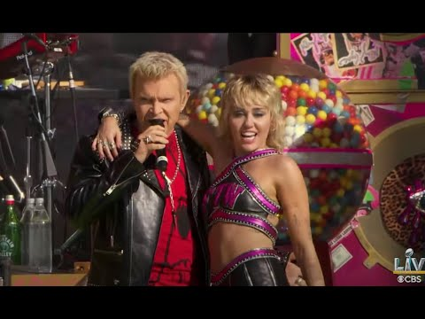 Watch Miley Cyrus Headline Super Bowl LV Tailgate Bring Out Billy Idol