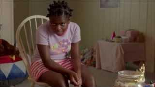Eden Wiggins:10 year old crazy eyes.  Orange is the New Black
