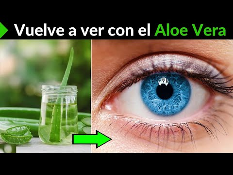 Natural remedies with Alo Vera to improve vision in your eyes by 100%