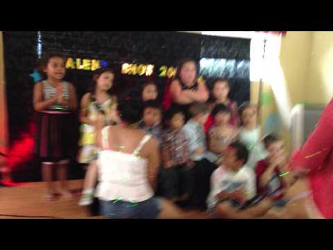 Footprints Family Day Care Talent Show 2013 - Choo Choo Soul - Alphabet
