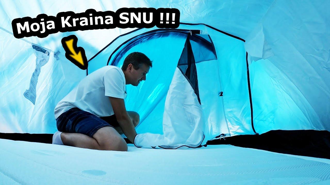Śpię obok Przyczepy Kempingowej !!! - Pierwsze Wnioski i Nowy Namiot !!! - Jedziemy do CALPE (#610)