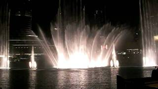 Dubai Fountain - Lionel Richie's All Night Long