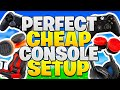 How To Get A PERFECT Console Gaming Setup CHEAP! - Fortnite PS4 + Xbox Tips