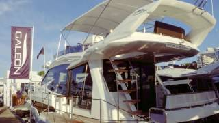 Introducing the 2017 Galeon 560 SKY Yacht