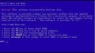Darik's Boot And Nuke (DBAN) - Wipe Your Hard Drive - Complete Tutorial