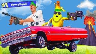 Lil Moco Plays FORTNITE! (Mexican Cholo Parody) *Banana Squad*