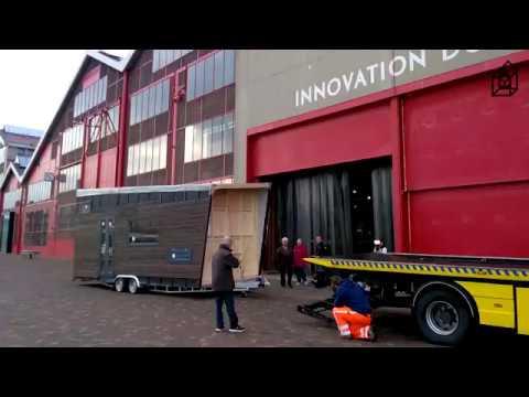 Verhuizing Tiny House Rotterdam Youtube