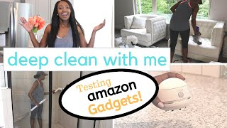 Testing Amazon Cleaning Products for Deep Cleaning! Deep Clean with Me!