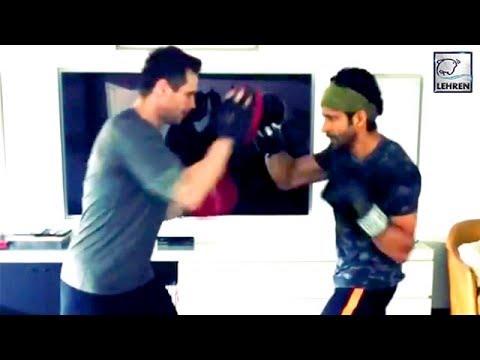 Farhan Akhtar Starts Kickboxing Training For 'Toofan' With Champion Drew Neal | LehrenTV Mp3