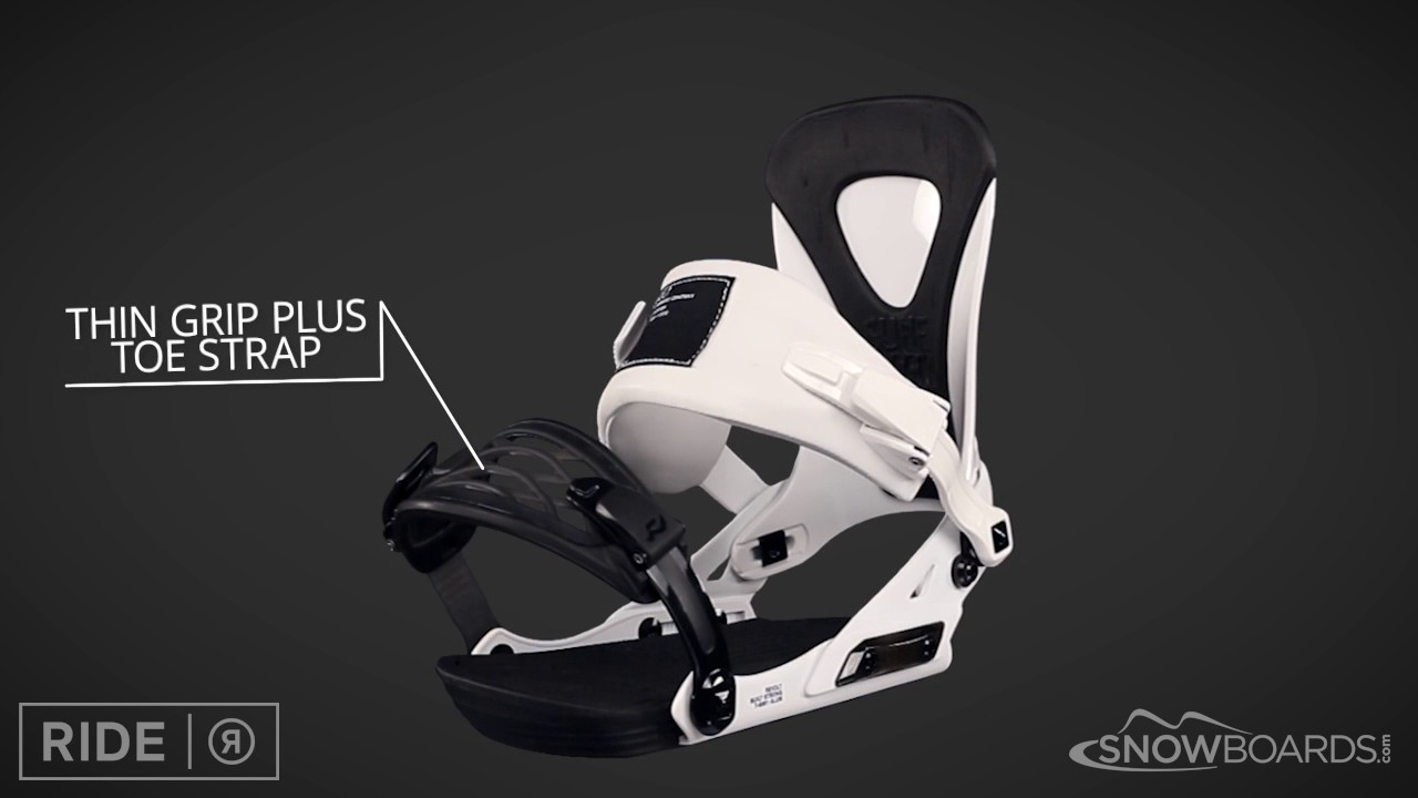 a7ee8ec5238 2017 Ride Revolt Mens Binding Overview by SnowboardsDotCom - YouTube