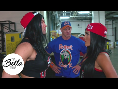 John Cena interrupts awkward moment between Nikki Bella and copycat!