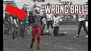 """ Wrong Ball"" Trick Plays In Football"