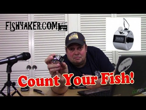 Count Your Fish! - Manual Analog Counter: Fishing Tackle Tips