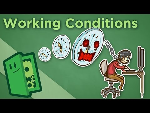 Working Conditions - The Deplorable Status Quo that Killed a Studio - Extra Credits