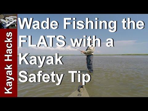 Wading with Kayak - Kayak Safety Video