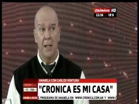 Crónicas de Vida: Anabela Ascar entrevista a Carlos Ventura, jefe de fotografía de Crónica (1 de 2)