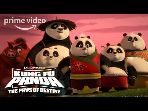 Kung Fu Panda Season 1, Part 2 - Official Trailer | Prime Video Kids
