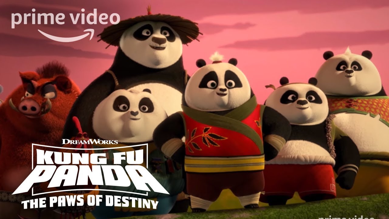 Kung Fu Panda Season 1 Part 2 Official Trailer Prime Video Kids Youtube