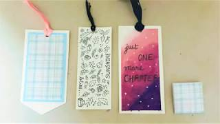 How to Make Bookmarks From Paper