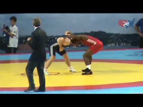 2011 Worlds Greco Semis - Manuchar Tskhadaia (GEO) vs. Justin Lester (USA)