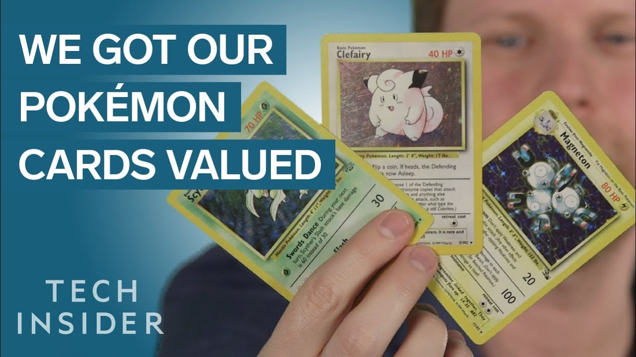 we got our pokmon cards valued - Places To Sell Pokemon Cards Near Me