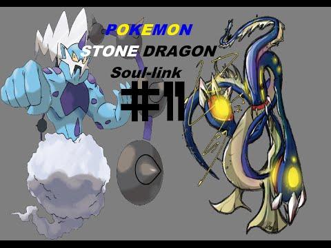Pokemon Stone Dragon Soul-link #11 ANDANDO SOBRE A ÁGUA