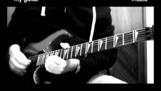 Led Zeppelin - Over the Hills and Far Away - guitar solo (cover)