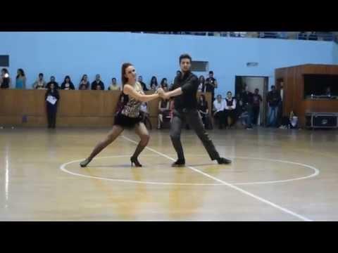 Syria Dance Competition 2015 - Salsa Advanced - Ahmad & Maya - Salsa Spark Dance Academy