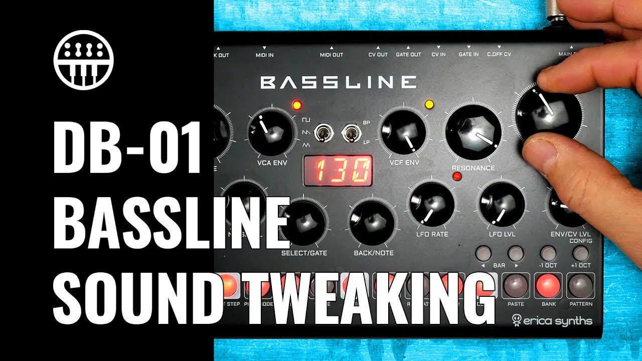 Sound Exploring | Erica Synths Bassline DB-01 | Thomann