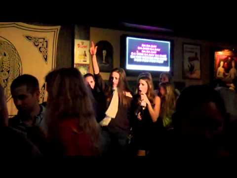 Drunk College Girls Sing Karaoke [HD]