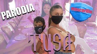 MASCARILLA OBLIGATORIA Parodia Tusa Karol G, Nicki Minaj. la mascarilla De Stefanchico tv