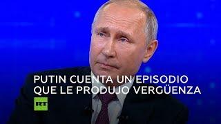 Putin confiesa un momento del que se sintió muy avergonzado