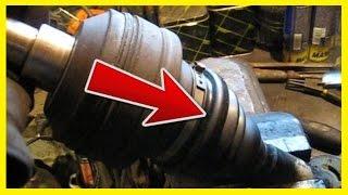 Как поменять пыльник внутреннего шруса VW Sharan, Ford Galaxy, Seat Alhambra
