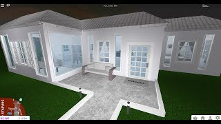 how to build big modern house on bloxburg