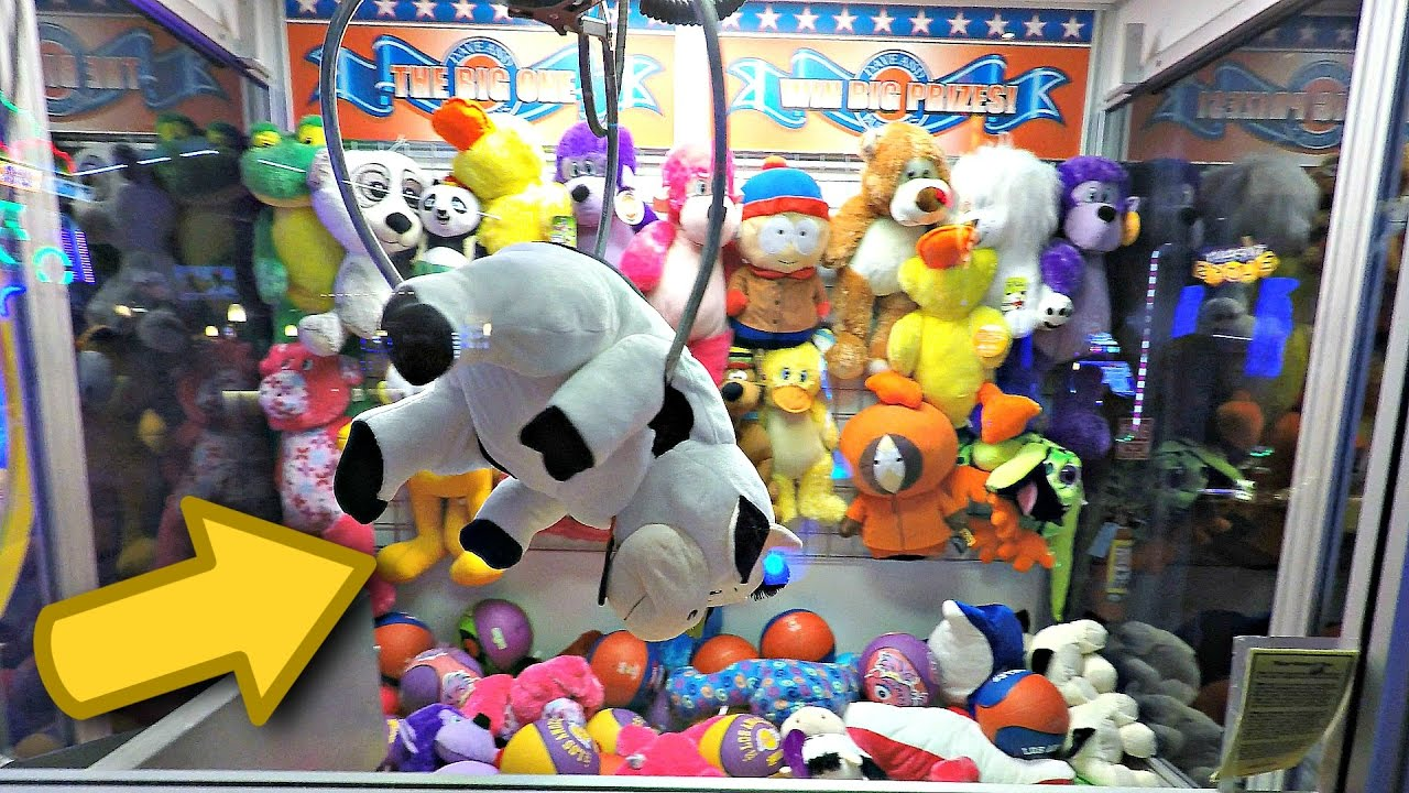 Claw Machine Plush Toys : Claw machine wins triple plush win at the big one
