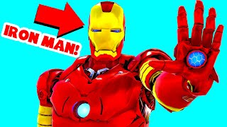 I Found An IRON MAN Suit In Ark Survival Evolved! STEALTH RAIDS! (Ark Survival Evolved Trolling)
