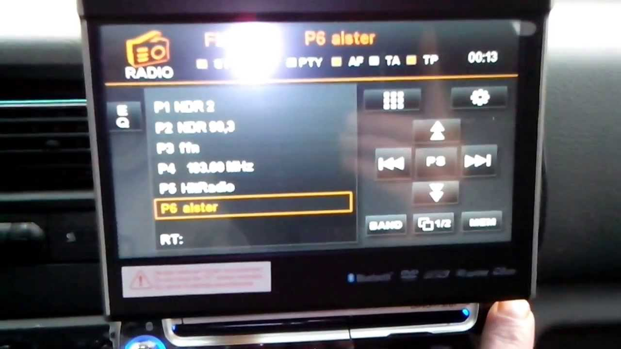 pioneer touch screen radio manual