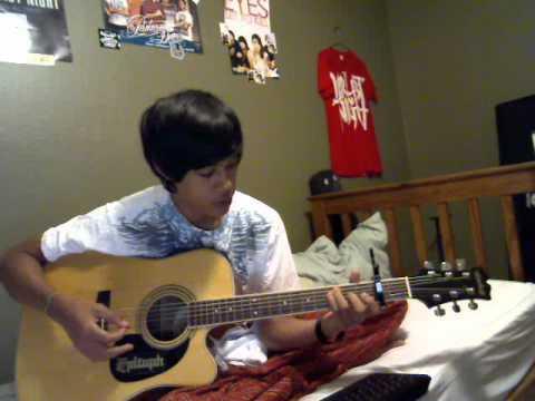 Pierce The Veil Caraphernelia Acoustic Re Cover Tutorial Youtube
