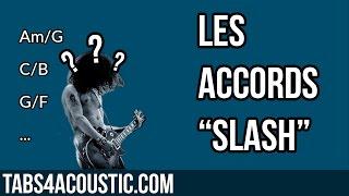 cours de guitare : les accords slash de type c/b ou am/g