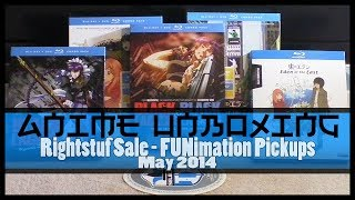 Anime Unboxing | RightStuf Sale: Eden of the East + Movies, Black Lagoon + OVA  [DVD/Blu-Ray Combo]