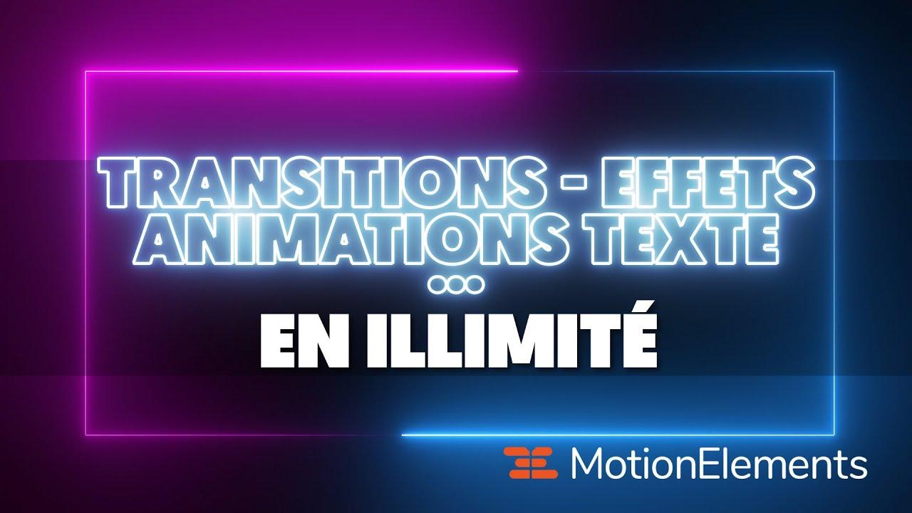 Des Millions d'éléments pour le MONTAGE VIDÉO I MotionElements (Premiere Pro, After Effects, FCPX..)