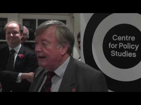 "Ken Clarke : ""Kind of Blue"" at the Centre for Policy Studies"